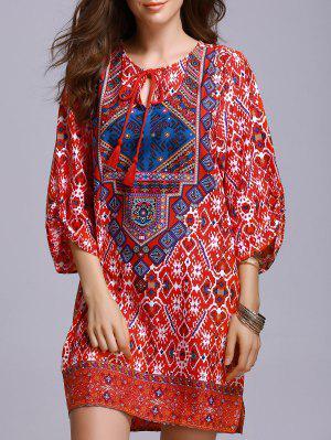 Vestido De Campesino Roja - Rojo S