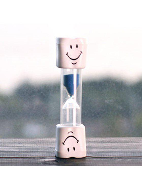 الإبداعية الوجه المبتسم 5 دقيقة فرشاة الأسنان الموقت الساعة الرملية للأطفال - أزرق