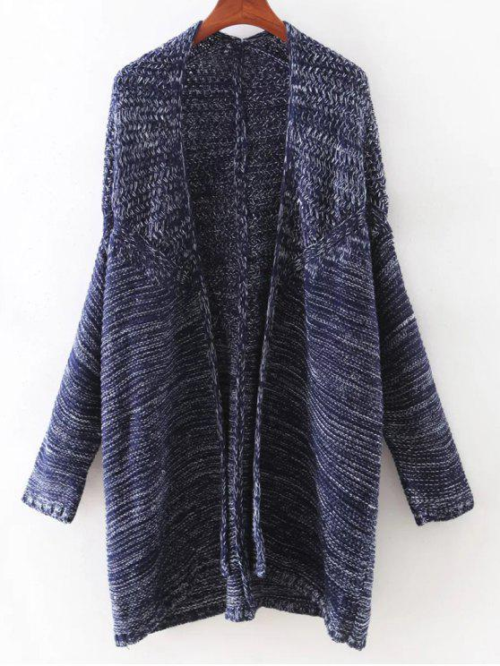 affordable Open Front Batwing Cardigan - CADETBLUE ONE SIZE(FIT SIZE XS TO M)