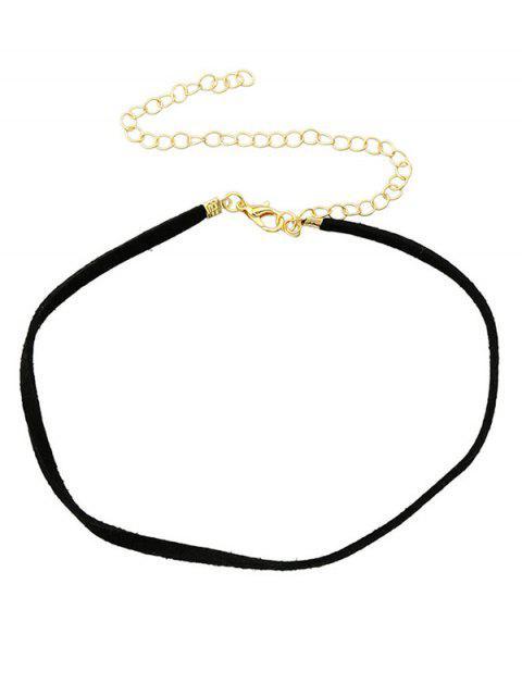 shop Adjustable Velvet Chokers Necklace -   Mobile