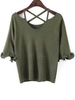 Stringy Selvedge Sweater - Light Green