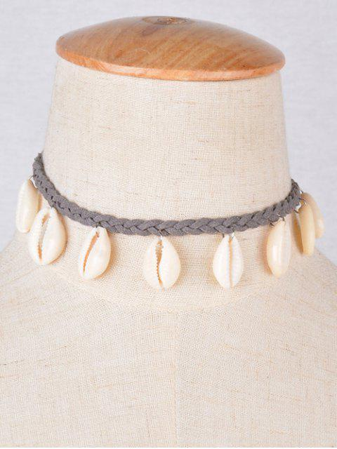 affordable Shell Braid Chokers Necklace -   Mobile