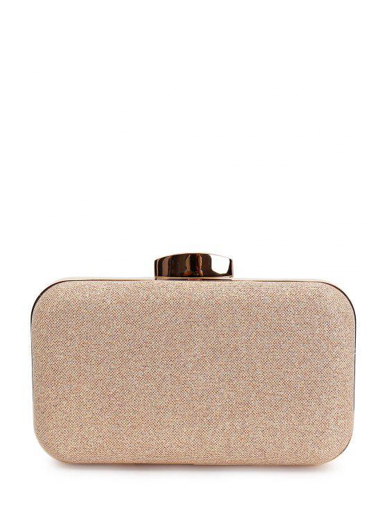 حقيبة للسهرات ذهبية - ضوء الذهب