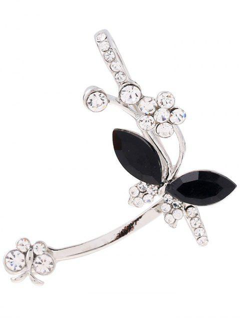 best Rhinestone Butterfly Cuff Earring -   Mobile