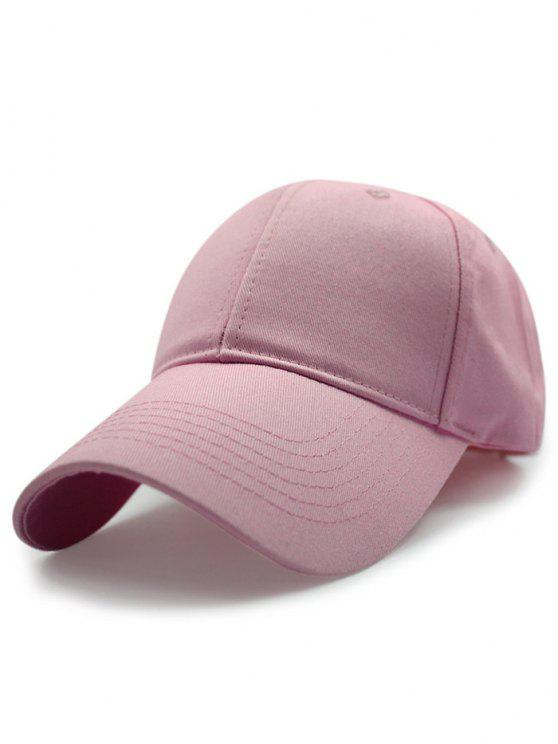 Sólido protección solar del color del sombrero de béisbol - Rosa
