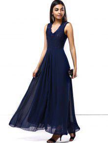 635e013e36871 ... فستان الحفلة طويل ماكسي شيفون ...