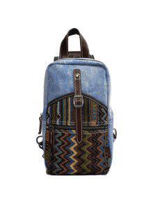 حقائب ظهر رياضية للرجال - ازرق