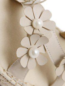 Flowers straw flat heel sandals off white sandals 38 zaful flowers straw flat heel sandals mightylinksfo