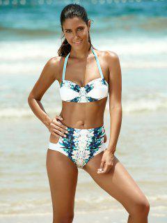 Talle Alto Cabestro Bikini - Blanco S
