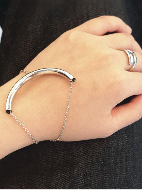 women's U Shape Elbow Bracelet -   Mobile
