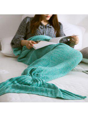 Couverture de queue de sirène tricotée chaude