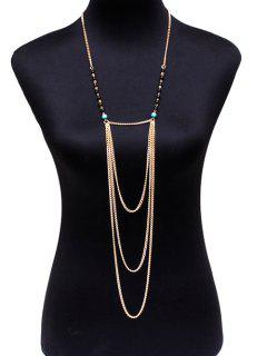Beads Body Chain - Golden