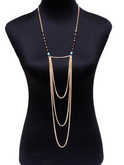 Graceful Beads Body Chain...