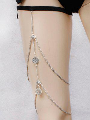 Alloy Coins Body Chain