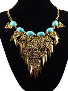Triangle Necklace - Golden