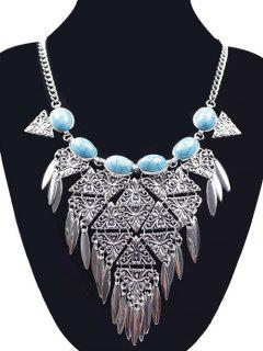 Collier Triangle - Argent