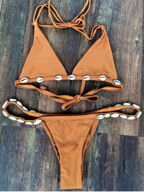 Conjunto de Bikini de Caza Descascarada - Trigo M Mobile