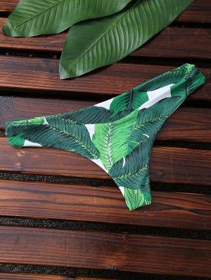 V Bikini Bottom - Green S