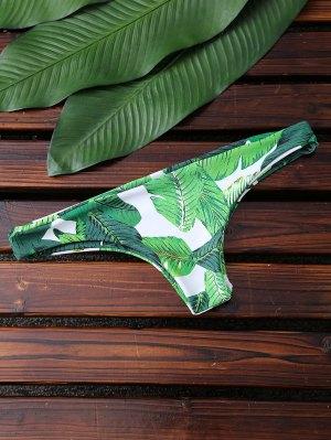 Bikini Bas élevé - Vert L