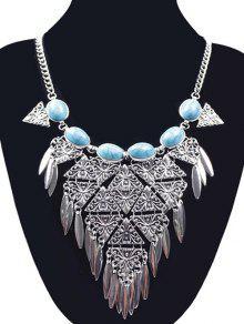 Collar Triángulo - Plata
