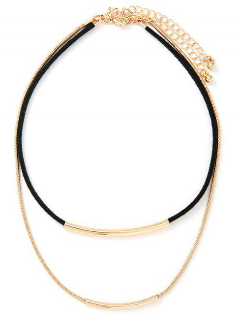 sale Layered Choker - GOLDEN  Mobile