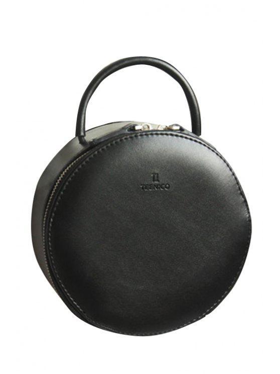 حقيبة توتس على شكل الدائرة - أسود