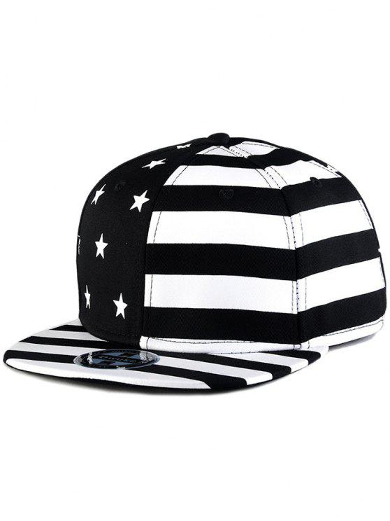 US Flag Snapback Hat BLACK  Hats  315bf095f0b