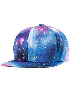 Starry Sky Print Snapback Hat