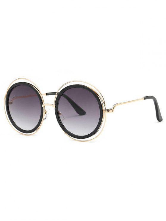 Recortable Gafas de sol redondas - Gris