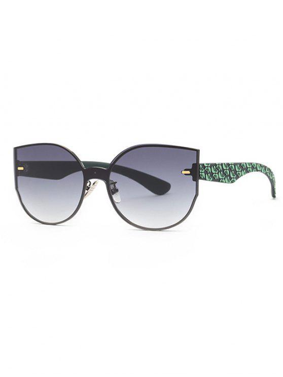 Gafas de sol de gran tamaño al aire libre - Gris
