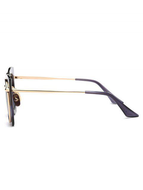 sale Vintage Cat Eye Sunglasses - BROWN  Mobile