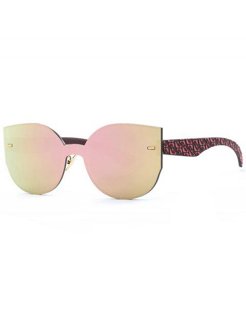 shops Outdoor Oversized Mirrored Sunglasses -   Mobile