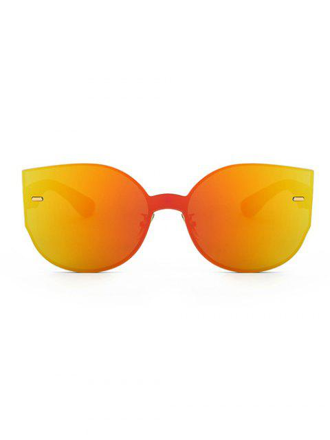 latest Outdoor Oversized Mirrored Sunglasses -   Mobile