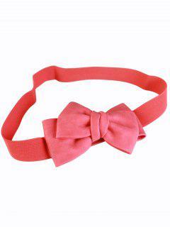 Big Bowknot Wide Elastic Belt - Red