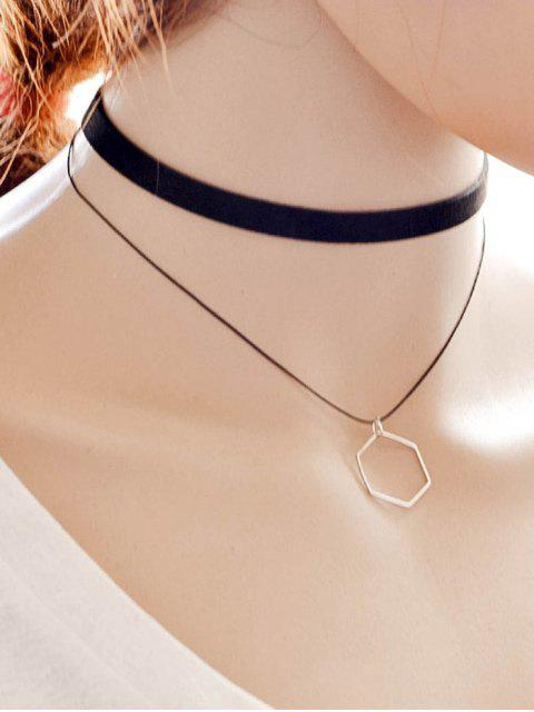 sale Geometric Choker -   Mobile