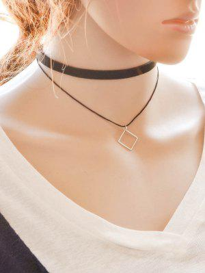 zaful Alloy Square Choker