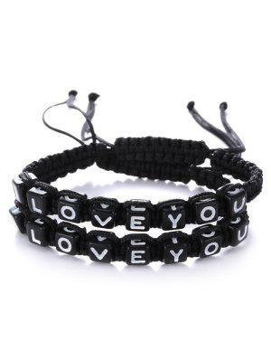 Letters I Love You Bracelets