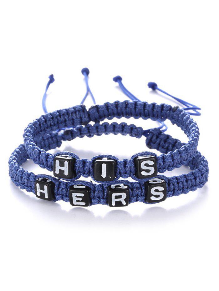 Son Hers Tissé Bracelets