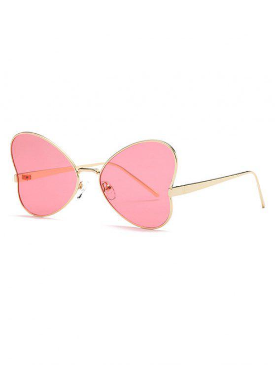 latest Heart Shape Trendsetter Sunglasses - RED