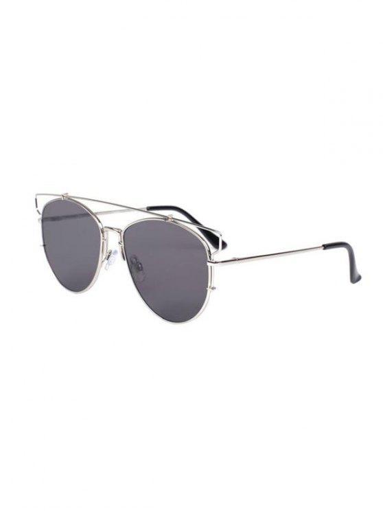 Découpez Out Crossbar Pilot Sunglasses - gris
