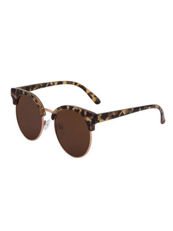 lady Hawksbill Frame Polarized Sunglasses - TEA-COLORED