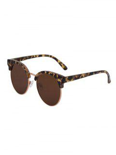 Hawksbill Frame Polarized Sunglasses - Tea-colored