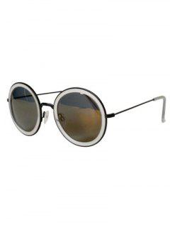 Vintage Polarized Round Sunglasses - Gray
