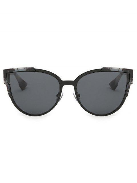 fancy Trendsetter Print Cat Eye Sunglasses - GRAY  Mobile