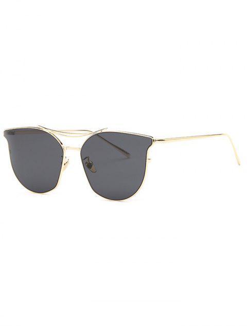 hot Full Frame Pilot Sunglasses - GRAY  Mobile