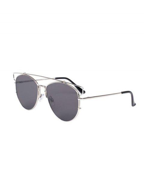 Découpez Out Crossbar Pilot Sunglasses - gris  Mobile
