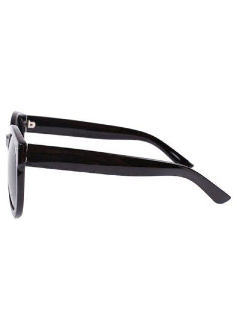 best Simple Black Frame Sunglasses - GRAY  Mobile