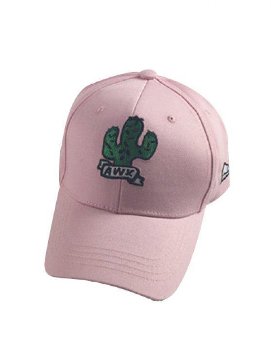 29% OFF  2019 Cactus Baseball Cap In PINK  81e202e9a43