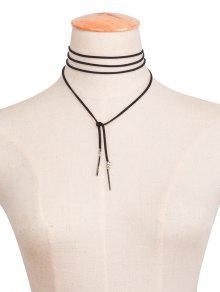 Bar Collar - Negro
