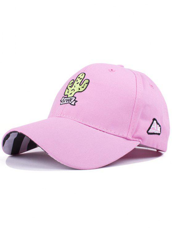 Cactus Baseball Hat - ROSE PÂLE